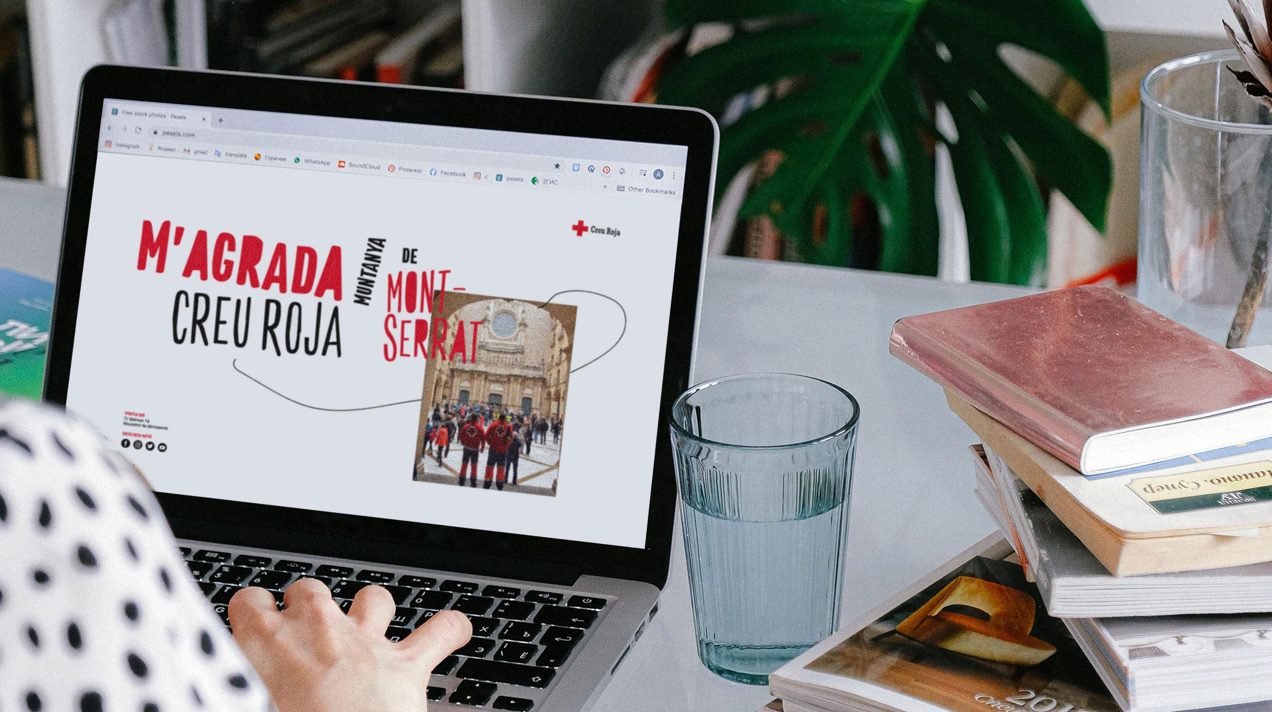 Diseño de identidad corporativa y naming para Creu Roja